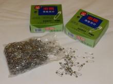 Biztosítótű (1728 db), hosszúság: 22mm, szín: nikkel, 1 doboz: 1728db, Egységár: 2940,0 Ft/doboz*