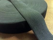 Gumiszalag, szín: fekete, szélesség: 40mm, 1 tekercs: 40m, Egységár: 51,0 Ft/méter*