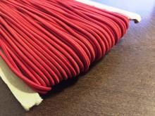 Gumizsinór, szín: piros, átmérő: 2.5mm, 1 tekercs: 50m, Egységár: 24,0 Ft/méter*