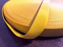 Ripsz szalag, szín: napsárga, szélesség: 22mm, 1 tekercs: 50m, Egységár: 36,0 Ft/méter*