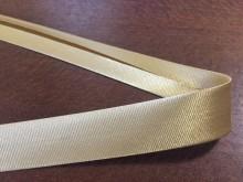 Szatén ferdepánt, szín: drapp, szélesség: 20mm, 1 tekercs: 25m, Egységár: 51,0 Ft/méter*