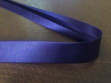 Szatén ferdepánt, szín: sötét lila, szélesség: 20mm, 1 tekercs: 25m, Egységár: 51,0 Ft/méter*