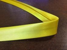 Szatén ferdepánt, szín: citromsárga, szélesség: 20mm, 1 tekercs: 25m, Egységár: 51,0 Ft/méter*