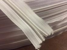 Végtelen zippzár, szín: fehér, 1 tekercs: 50m, spirál szélesség: 6mm, Egységár: 39,0 Ft/méter*
